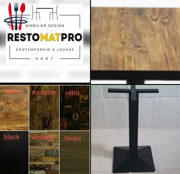 Table restaurant professionnel