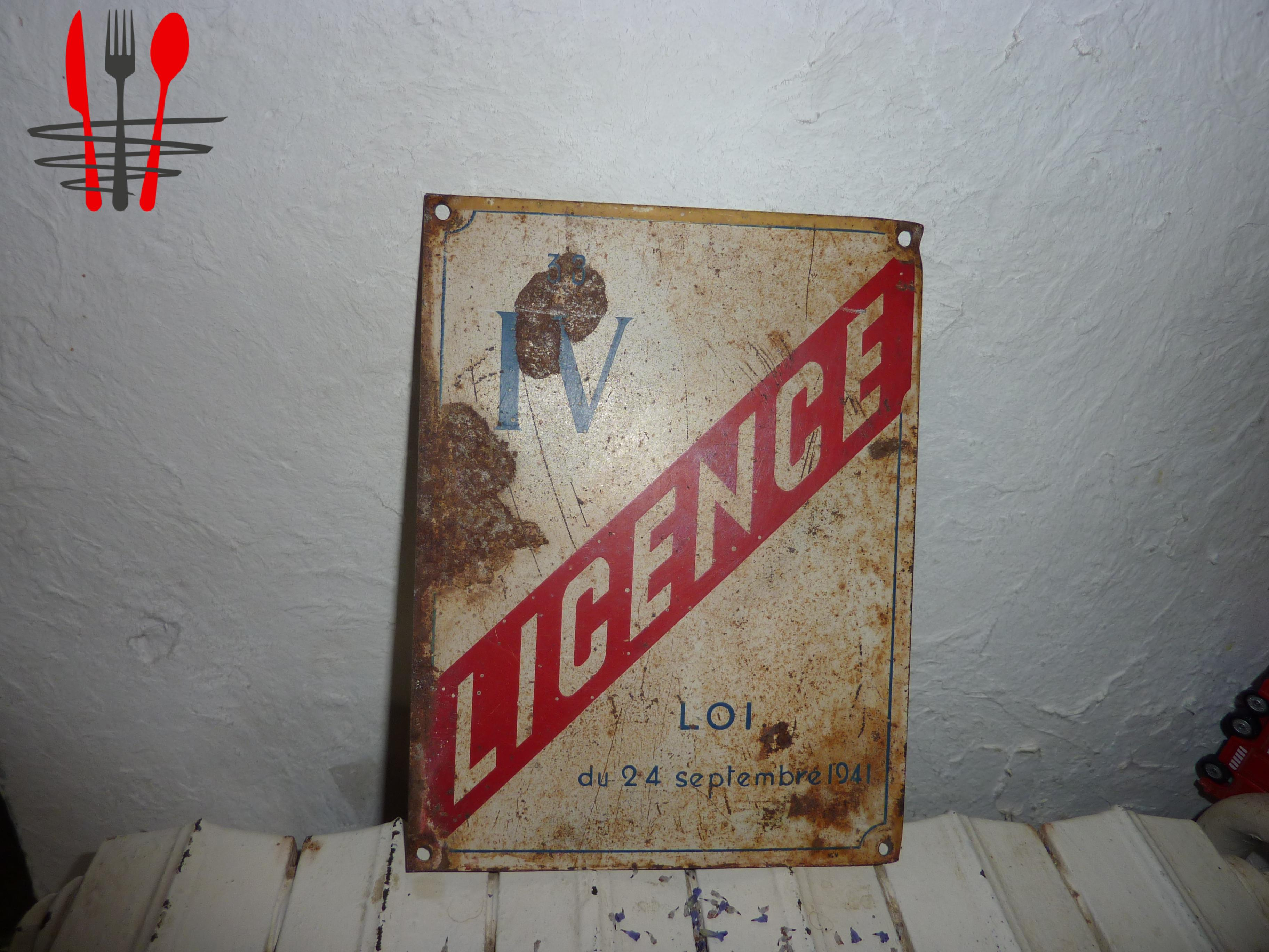 LICENCE IV    ISERE ET DEPARTEMENT LIMI