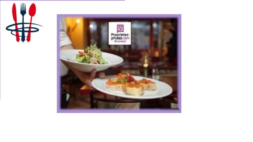 Commerce restaurant, bar, brasserie 95 m²