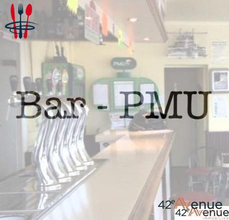 Commerce bar, PMU 60 m²