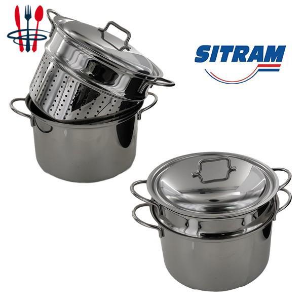 Cuit pâtes inox 24 cm sitram