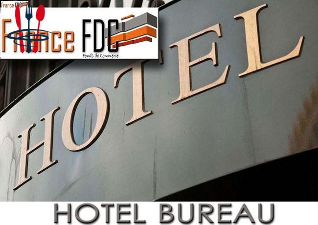 Commerce hôtel 800 m²