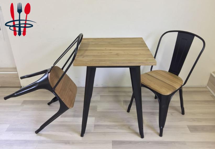 Chaise style Tolix industriel, vintage - 50 %
