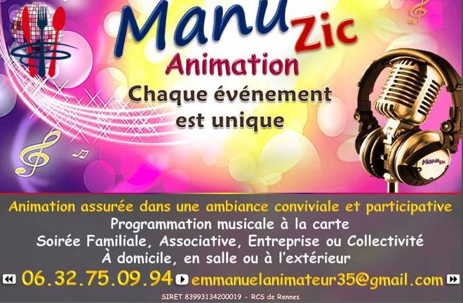 Manu'Zic # Animateur & Dj de votre événement