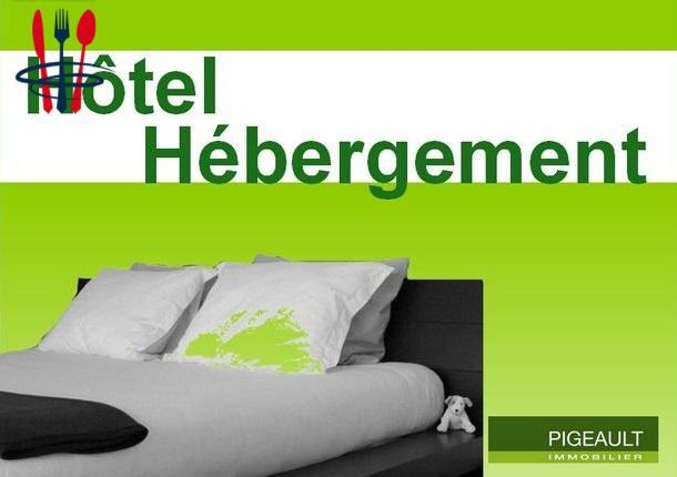 Commerce hôtel 900 m²
