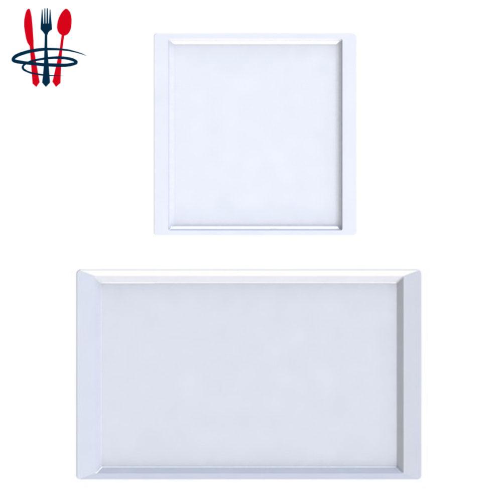 Assiettes carrées & rectangles