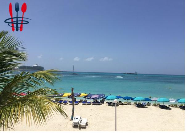 Restaurant avec plage privée à Saint-Martin