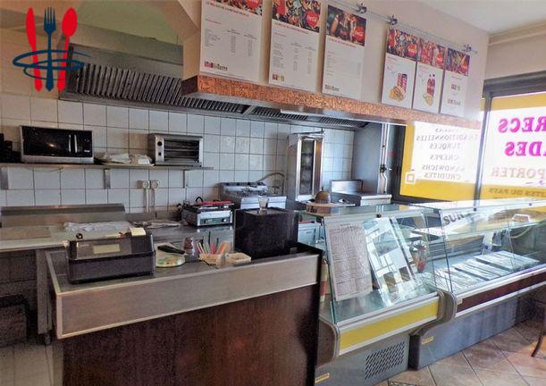 Commerce restauration rapide, snack 66 m²