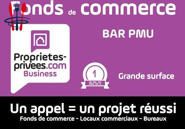 Commerce bar, PMU 160 m²
