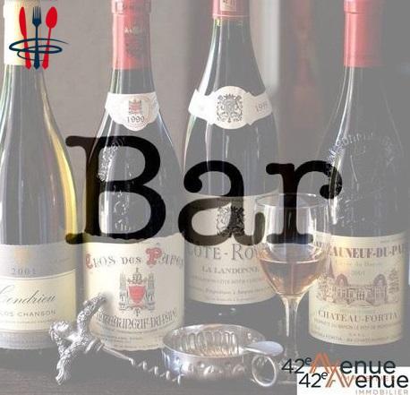 Commerce bar 65 m²