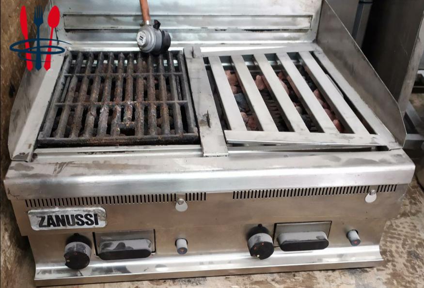 Grill professionnel à gaz