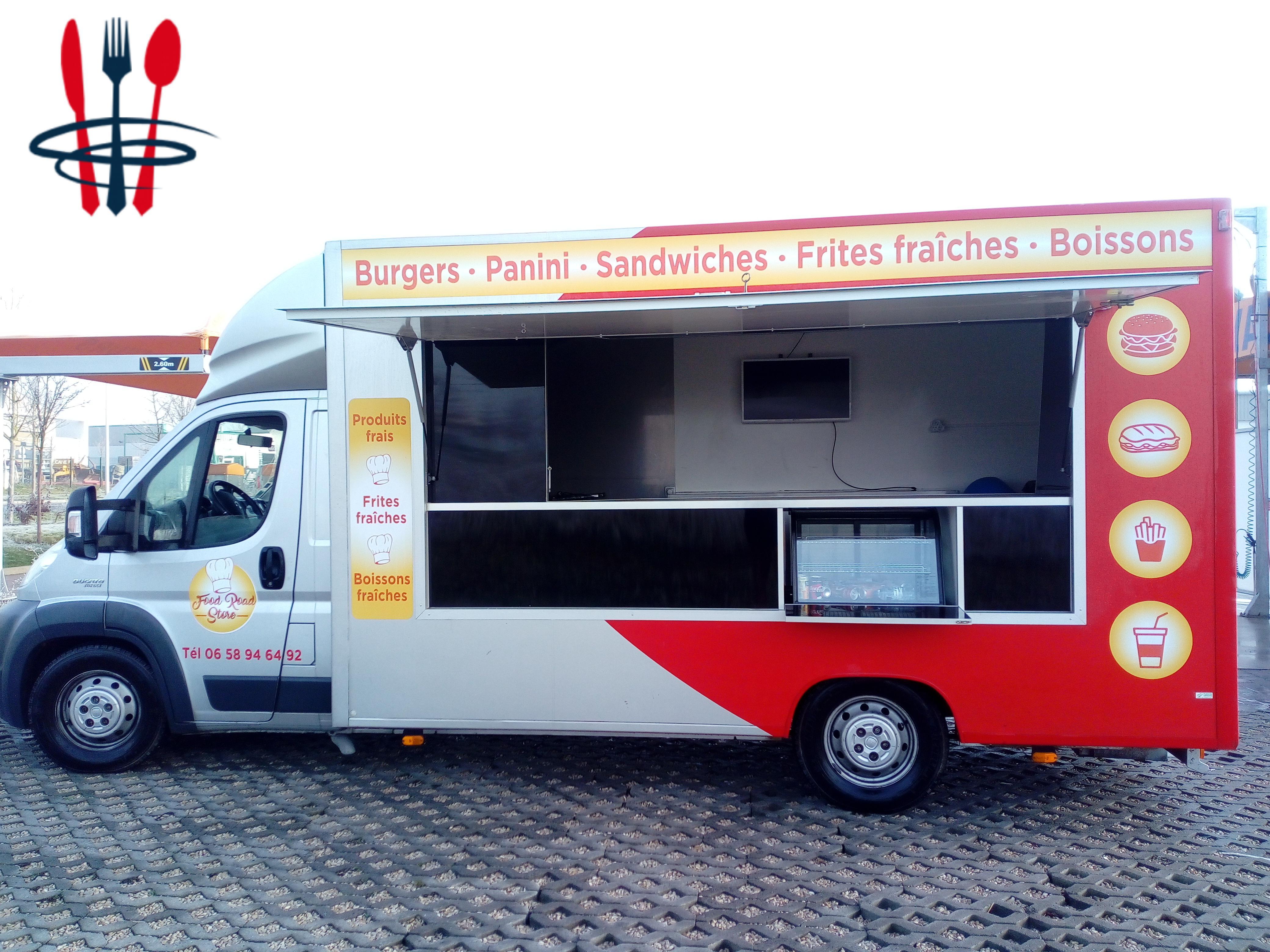 A vendre Food truck fiat ducato 180 multijet