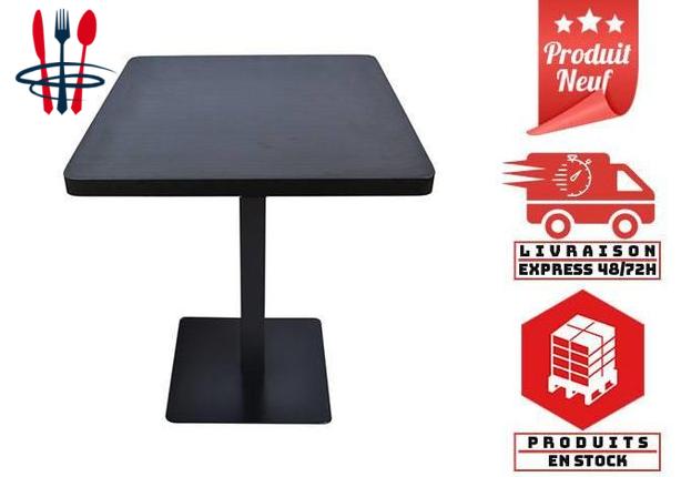 Tables de Restauration 60sur60 COCO BLACK