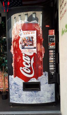 Distributeur automatique de canettes