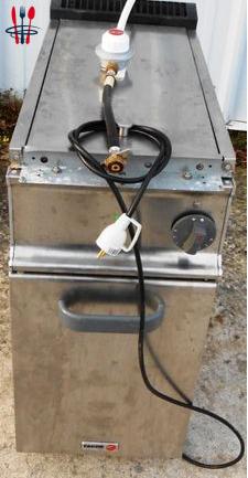 Friteuse gaz 20 Lt Gestion electr 220 V
