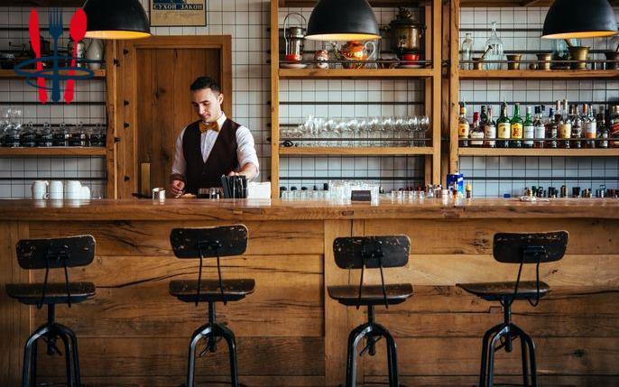 Commerce bar, restaurant 140 m²