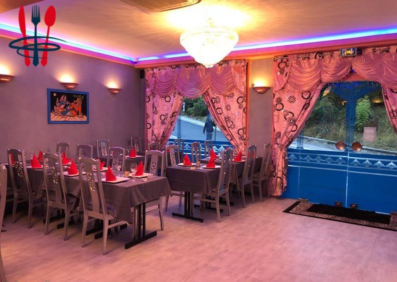 Restaurant indien avec fond de commerce