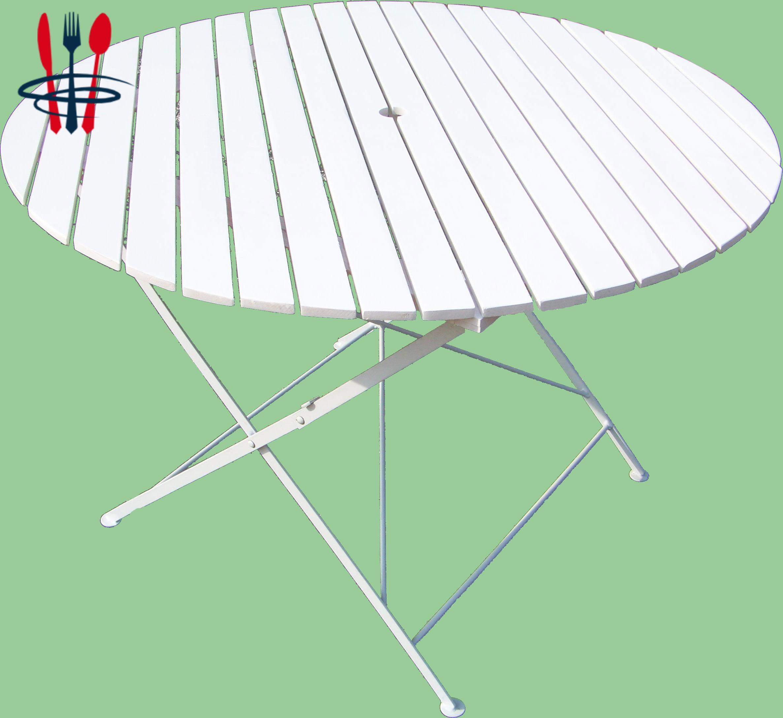 Vends tables pliantes bistrot