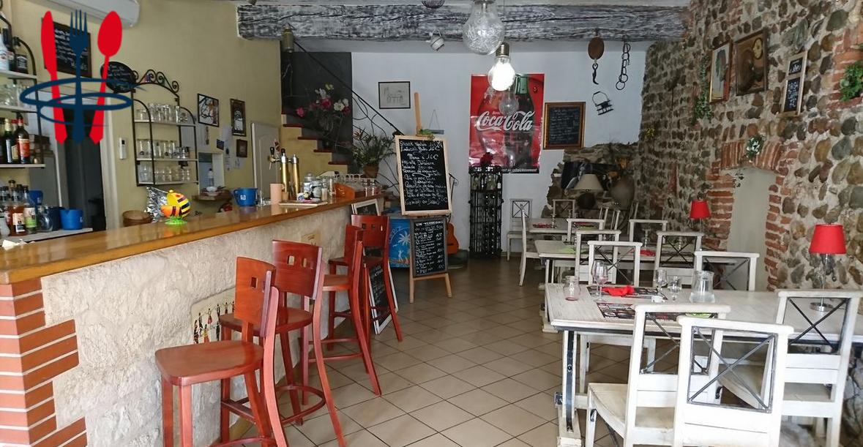 Restaurant avec bar licence IV