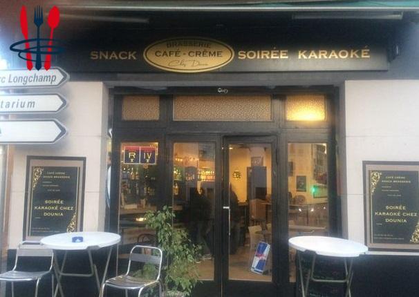 Brasserie, restaurant karaoké