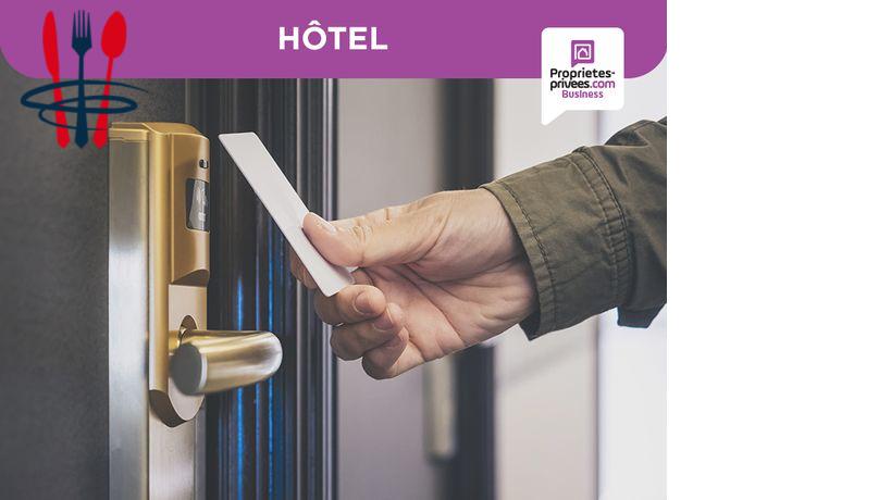 Commerce hôtel, restaurant, bar 3 000 m²