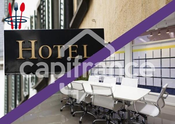 Local hôtel 900 m²