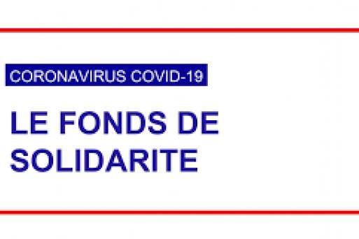FONDS DE SOLIDARITE à compter de juin 2021.